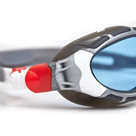 Zoggs Predator Flex Gogle S, silver/grey/blue tint